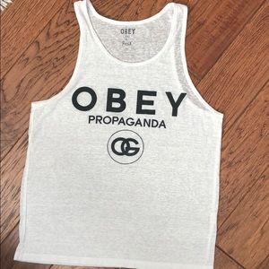 Obey summer tank